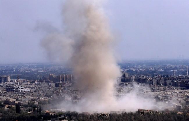 За две денонощия ВКС на РФ са нанесли удари по 263 обекта на ИД в Сирия