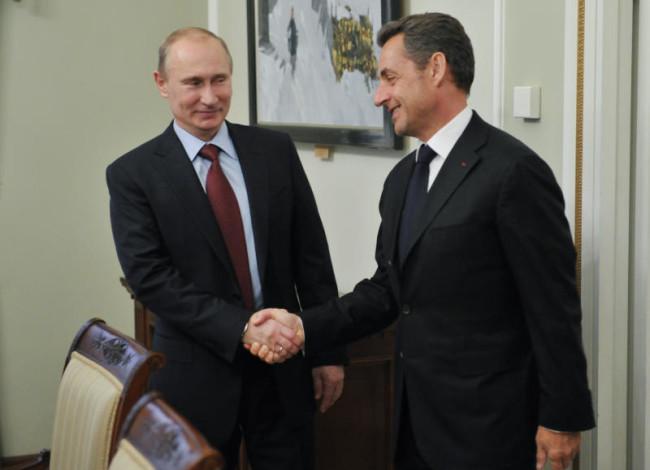 За какво отиде Саркози в Москва?