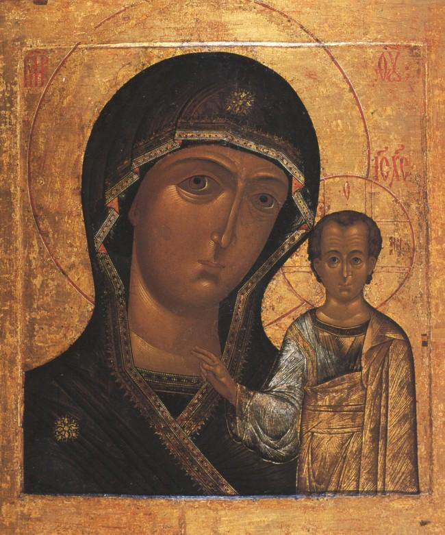 Чудесата на Казанската икона на Божията майка