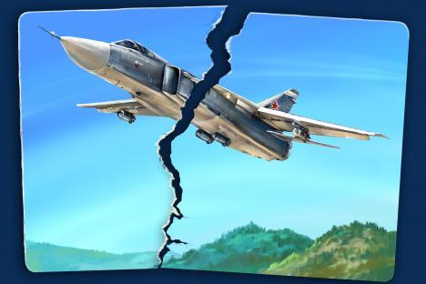 Ще се запазят ли отношенията между Москва и Анкара след инцидента със сваления самолет? Снимка: Дмитрий Дивин.