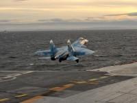 През 2015 г. ВМФ на РФ е увеличила интензивността на подготовката на командири на кораби с палубна авиация и морски пилоти