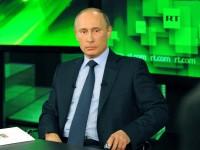Путин поздрави RT по повод 10-годишнината от създаването на телевизионната компания
