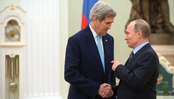 Песков: Путин не е говорил с Кери за участието на Асад в изборите