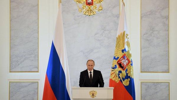 Путин: Терористите трябва да бъдат унищожавани на далечните подстъпи към Русия, това е законно