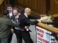 Рогозин за скандала с Яценюк в украинския парламент: Украйна изхвърля боклука от къщата