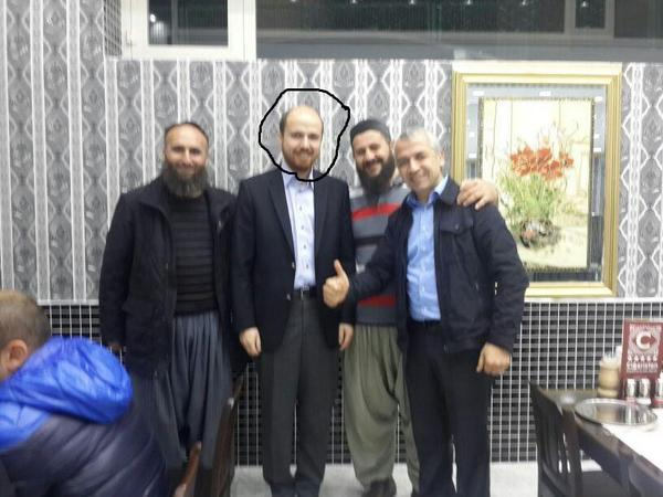 """Синът на Ердоган се снимал с главатари от """"Ислямска държава"""""""