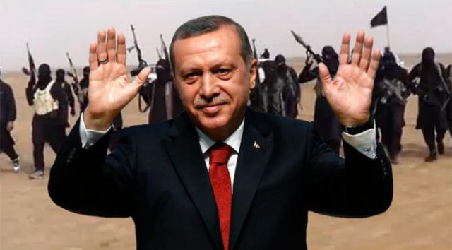 Даже с омазано от краден нефт лице, Ердоган не признава вината си!