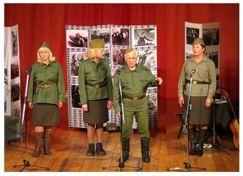 """Народен руски театър """"Славянка"""" представи """"Войната няма женско лице"""" в Несебър"""