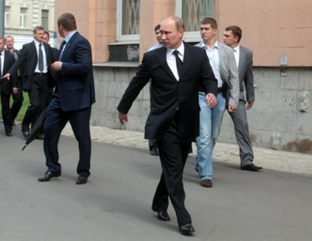 Какъв пистолет използва личната охрана на Владимир Путин