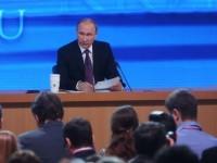 Владимир Путин дава годишната си пресконференция днес