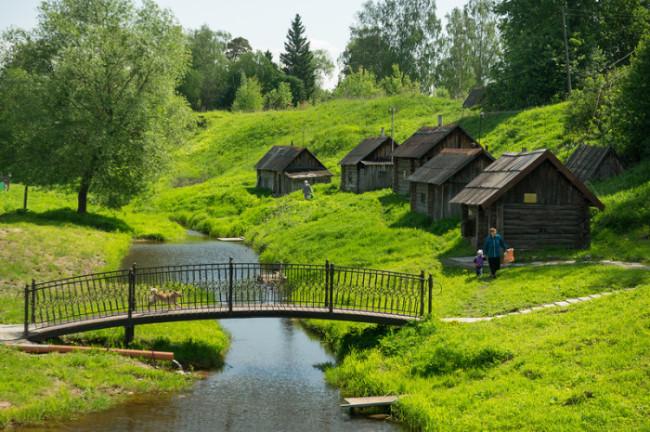 Най-красивото руско село