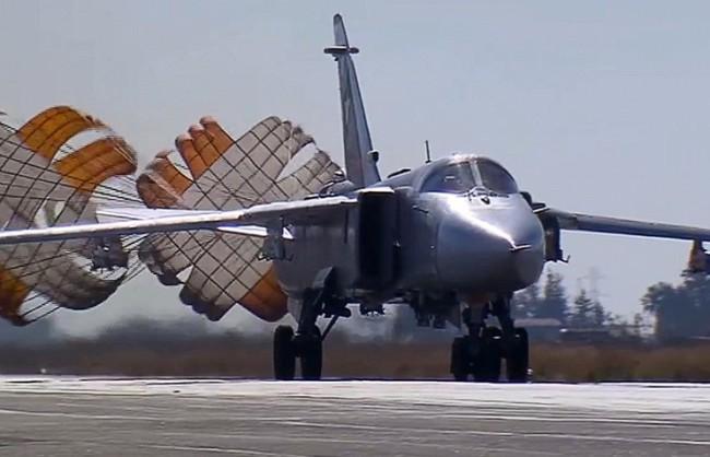 ВКС на РФ за едно денонощие са атакували 57 обекта на терористите в Сирия