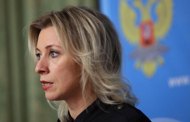 Захарова опроверга заявлението на Ушацкас, че се водят преговори за отмяна на санкциите срещу РФ