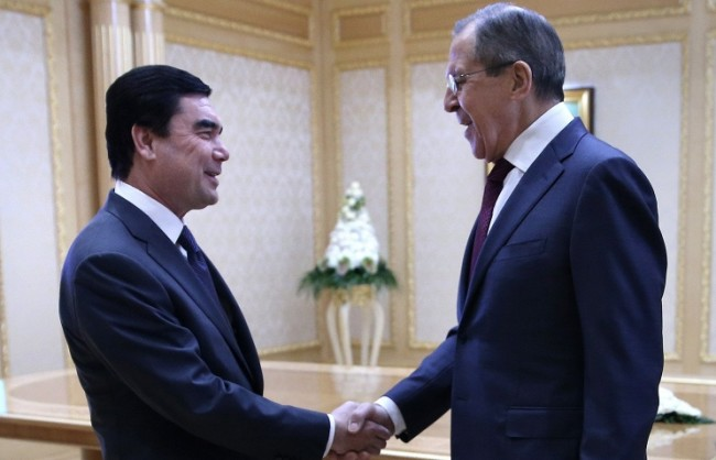 Лавров: Русия смята да развива сътрудничеството с Туркменистан в борбата срещу тероризма и наркотрафика