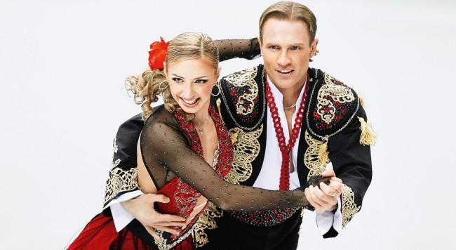 Олимпийските шампиони НАВКА И КОСТОМАРОВ в ледено шоу през март 2016 в зала АРЕНА АРМЕЕЦ