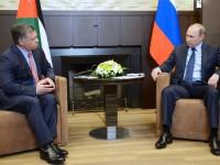 Путин и кралят на Йордания подкрепиха усилията на ООН за провеждането на междусирийски преговори