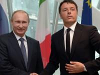 Путин и Ренци обсъдиха борбата срещу международния тероризъм