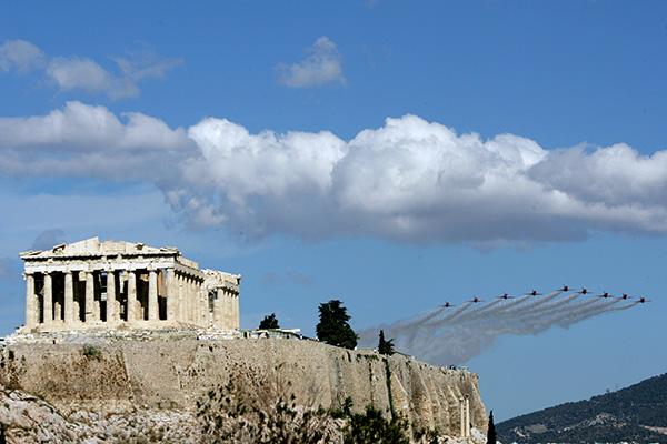 Битката за Егейското небе