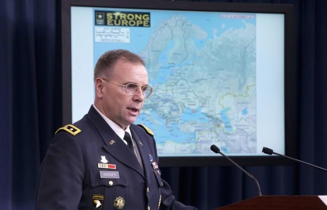 Генерал Ходжес: САЩ биха приветствали помощ от Русия в борбата с ИД