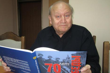 Игор Николаевич Завялов – блокадник, преживял блокадата на Ленинград. По настоящем възглавява Съвета на ветеранитена руските съотечественици в България. Снимка: Оля Ал-Ахмед