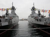 """Кораби от ЧФ с ракети """"Калибър"""" на постоянно дежурство в Средиземно море"""