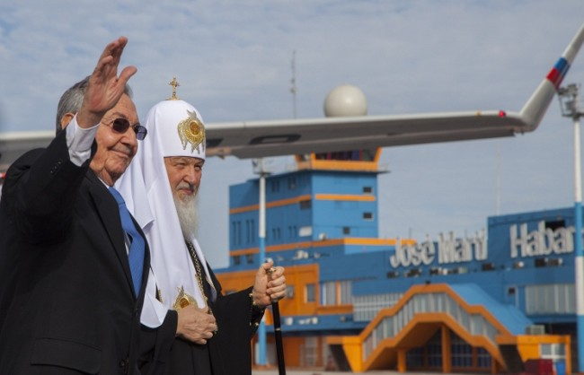 Патриарх Кирил пристигна в Хавана за среща с папата