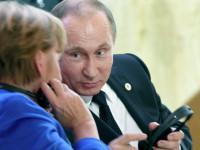 Путин обсъди с Меркел ситуацията в Източна Украйна