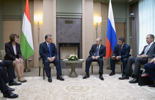 Путин: Русия и Унгария ще успеят да върнат взаимната търговия на пътя на устойчивия растеж