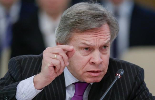 Пушков: Западът се раздели на привърженици и противници на конфронтацията с Русия
