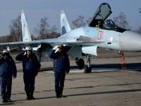 Свръхманеврените Су-35С пристъпиха към изпълняване на бойни задачи в Сирия