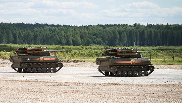 """National Interest нарече руския танк-робот """"Уран-9"""" предвестник на бъдещето"""