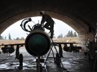 Самолет на ВВС на Сирия е бил свален в района на военното летище в провинция Хама