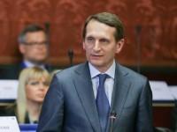 Наришкин призова европейците да не се впускат в абсурдна логика по въпроса за Украйна