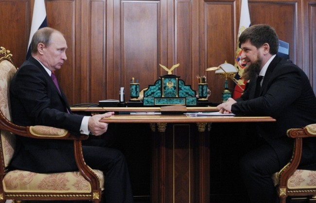 Путин назначи Рамзан Кадиров за и.д. президент на Чечения