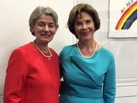 Ирина Бокова и Лора Буш: Нужни са инвестиции в образованието и реализацията на жените в Афганистан