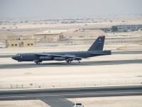 За пръв път американски стратегически бомбардировач Б-52 атакува ИД в Ирак