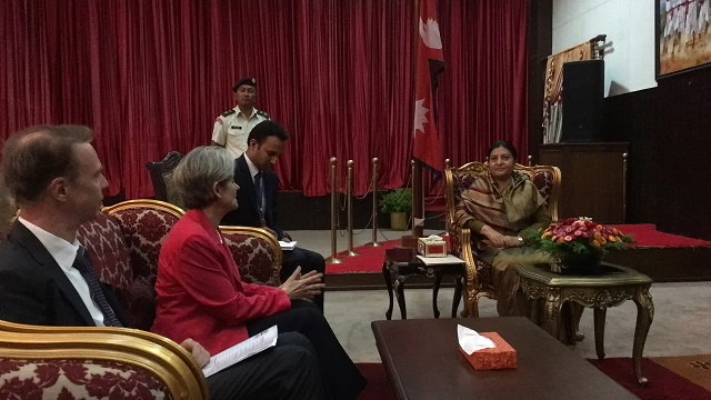 Ново партньорство за културно наследство между ЮНЕСКО и Катманду година след земетресенията в Непал