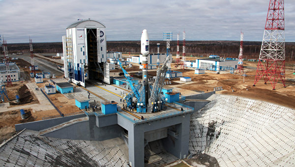 """Ракета-носител """"Союз-2.1а"""" беше успешно изстреляна от новия руски космодрум """"Восточний"""""""