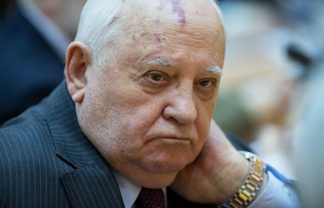 Украйна забрани на Горбачов да влиза в страната