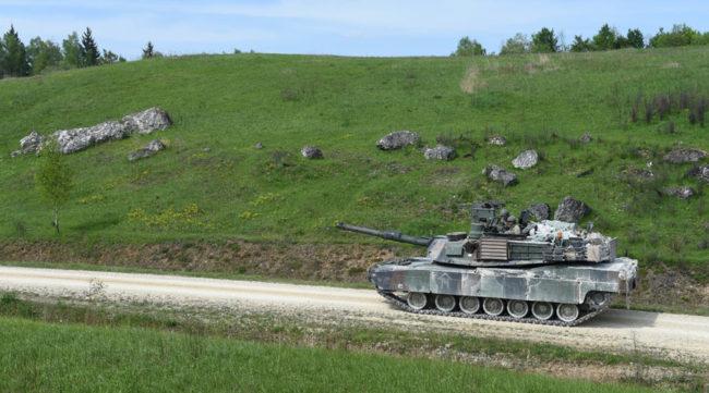 В състезанието на НАТО за танкове САЩ са извън топ 3