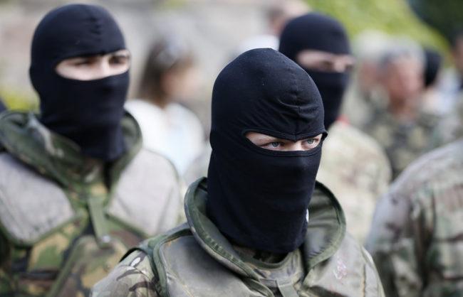 Няколко хиляди националисти протестираха пред украинския парламент