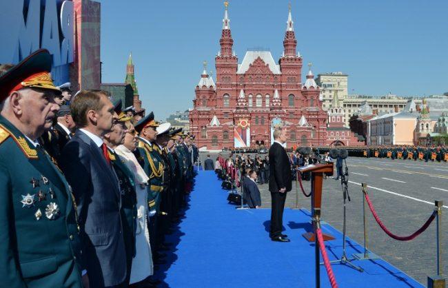Путин даде най-висока оценка на Парада на Победата