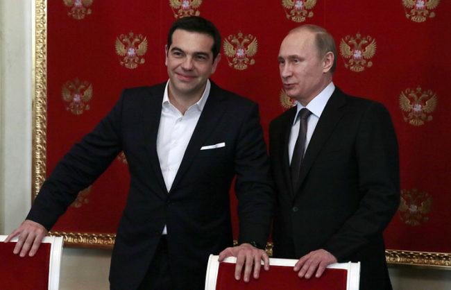 Путин и Ципрас споделят мнението, че е необходимо понижаване на напрежението между Русия и ЕС