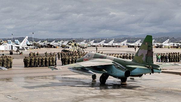 В руската авиобаза в Сирия се провеждат репетиции за военния парад в чест на Деня на Победата