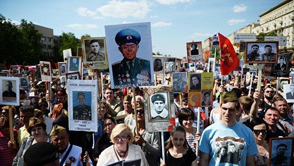 24 млн. души в Русия са участвали в тържествата на 9 май