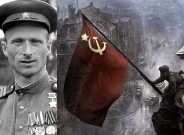 В Тбилиси е поставен  бюст-паметник на Героя на Съветския Съюз Мелитон Кантария