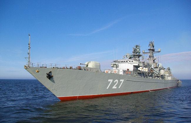 ВМС на САЩ: Инцидентът в Средиземно море се е случил по вина на руската фрегата