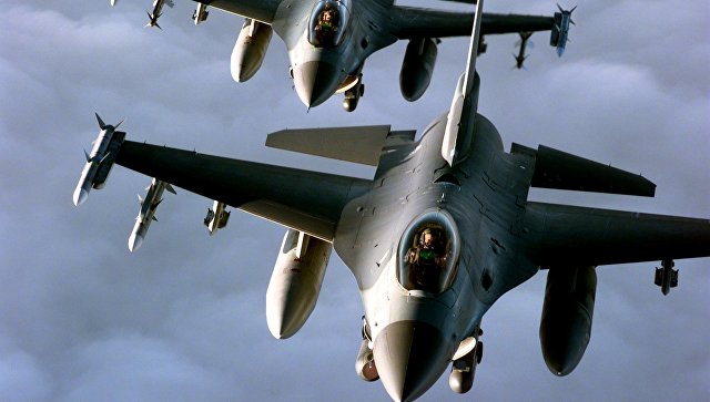 Два американски изтребителя F-16 се сблъскаха в небето над Джорджия