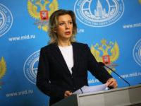 Захарова: И дума не може да става за грешка на руския пилот на сваления от Турция самолет