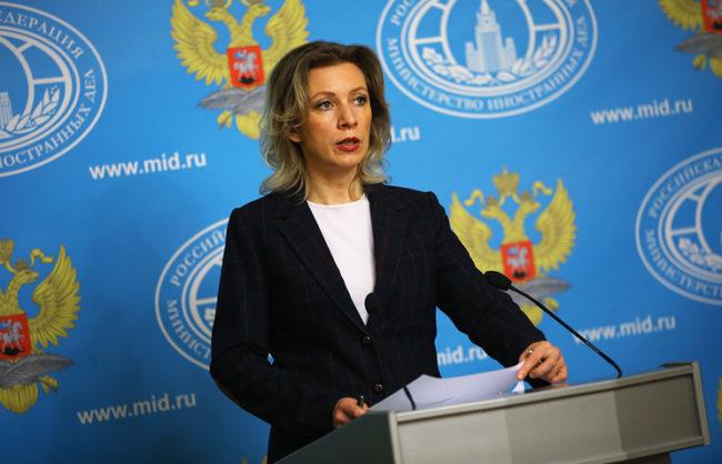 """Захарова отговори на бившия генерален секретар на НАТО за """"световния жандарм"""" САЩ"""